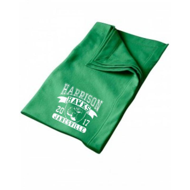 Harrison Hawks  Stadium Blanket