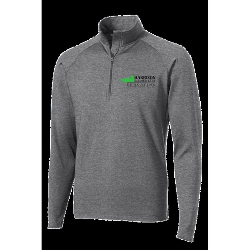 Harrison Hawks Adult Sport-Wick® Stretch 1/2-Zip Pullover