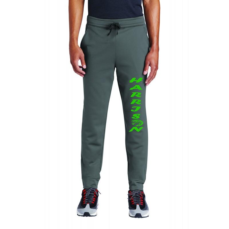Harrison Adult Unisex Sport-Tek ® Sport-Wick ® Fleece Jogger, ST233