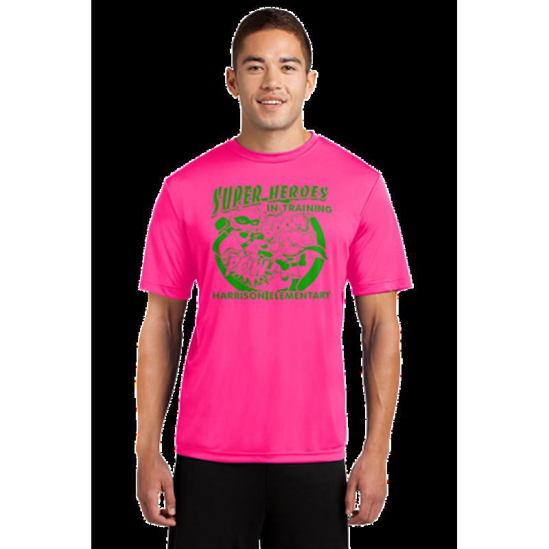 Harrison Hawks Adult Unisex Superhero PosiCharge® Competitor™ Tee