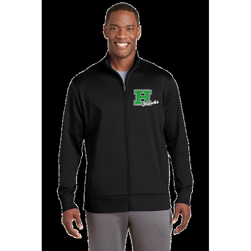 Harrison Hawks Adult Sport-Wick® Fleece Full-Zip Jacket