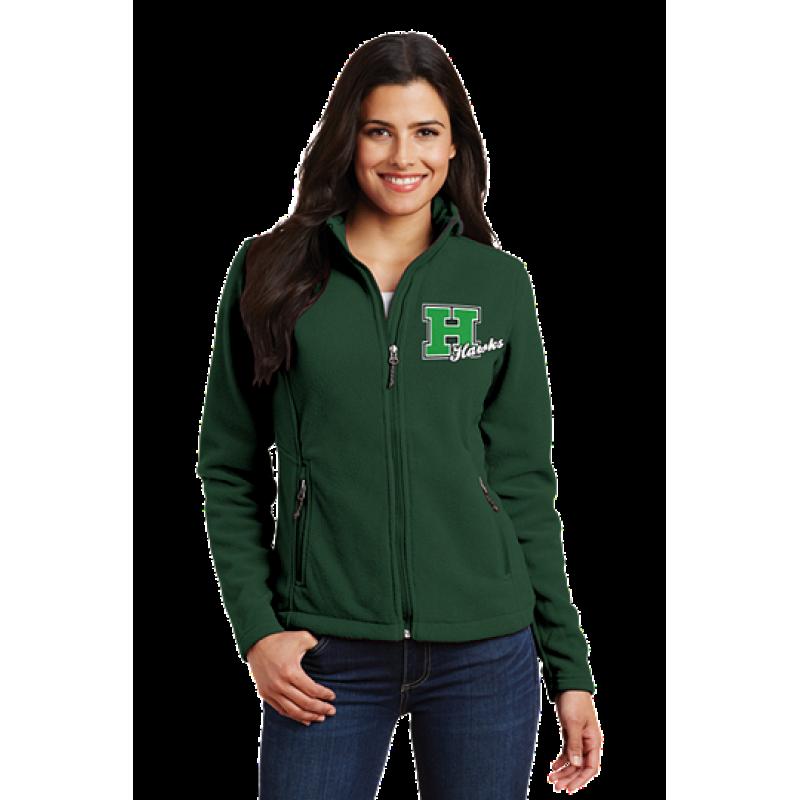 Harrison Hawks Adult Ladies Value Fleece Jacket