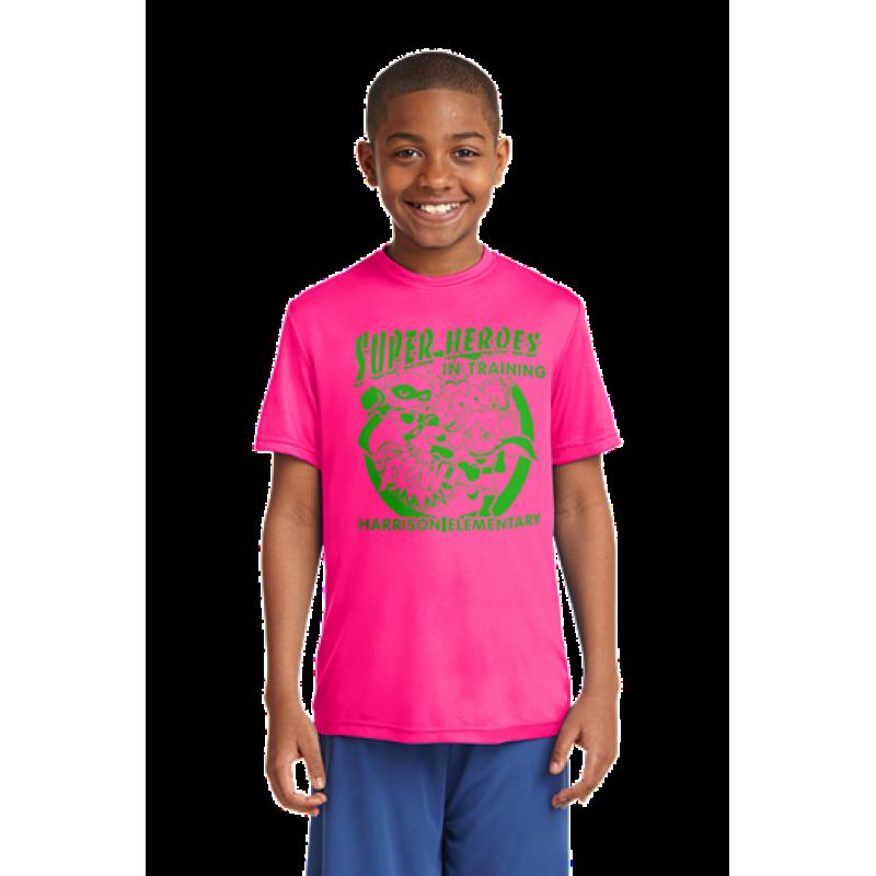 Harrison Hawks Superhero Youth PosiCharge® Competitor™ Tee