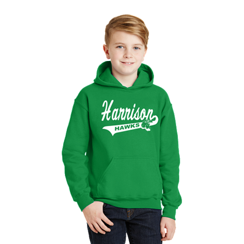 Harrison Hawks Tail Youth Heavy Blend™ Hooded Sweatshirt
