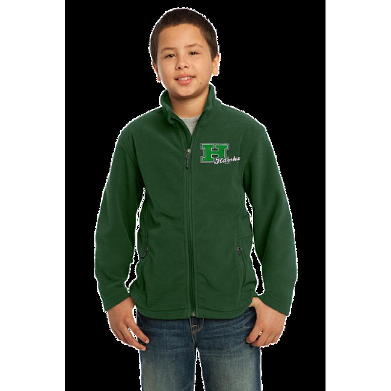 Harrison Hawks Youth Value Fleece Jacket