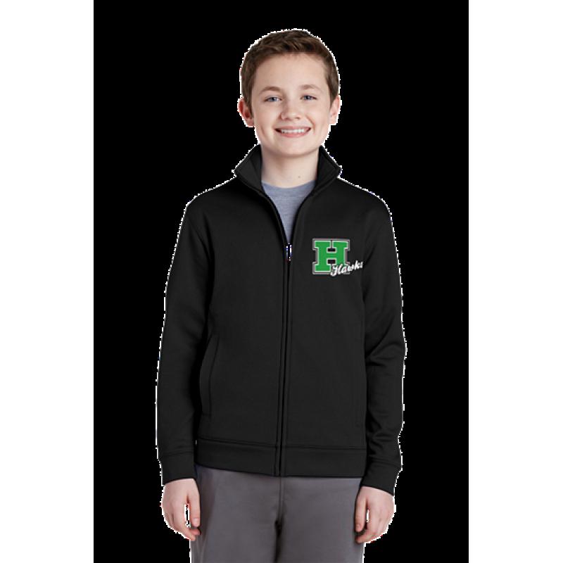 Harrison Hawks Youth Sport-Wick® Fleece Full-Zip Jacket